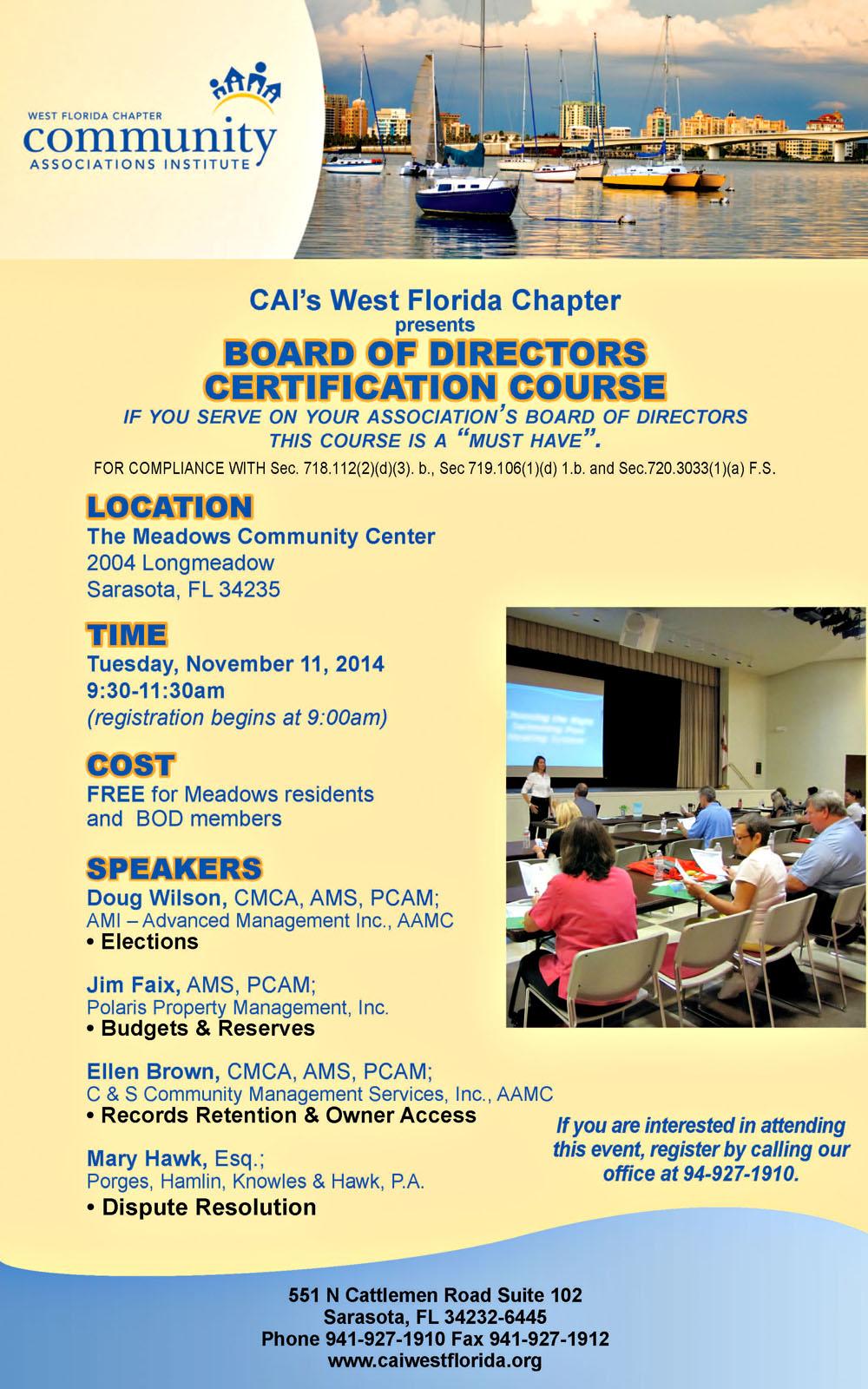 C S Community Management Services News